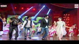 Samantha, Srinivas & DSP Dance on Stage - Alludu Seenu Audio Launch
