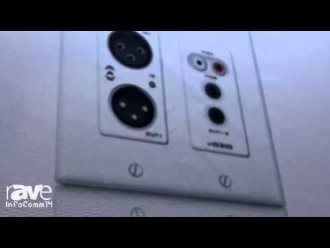 InfoComm 2014: Attero Tech Talks About Its unDIO Wall Plates & unD4I Dante Interface