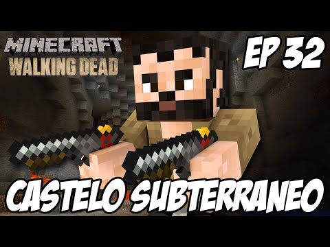 Minecraft The Walking Dead Ep 32 - Castelo Subterraneo video