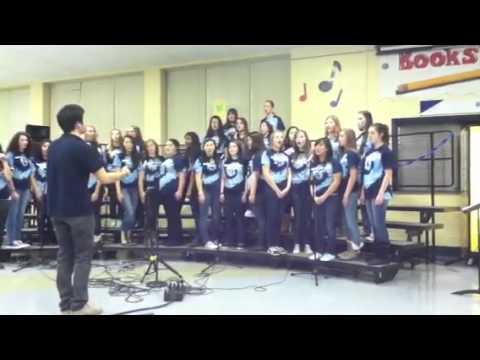 Addison Trail High School Treble Choir 12-13 performing Alw