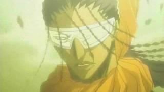 AMV /Captain Kaname\ Young Tousen's Story - The Just - (Vs Zaraki&Grimmjow)