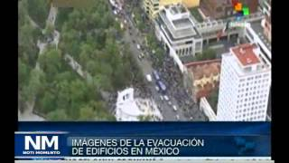 Sismo en Mexico / Telesur / Video @Noti_Momento