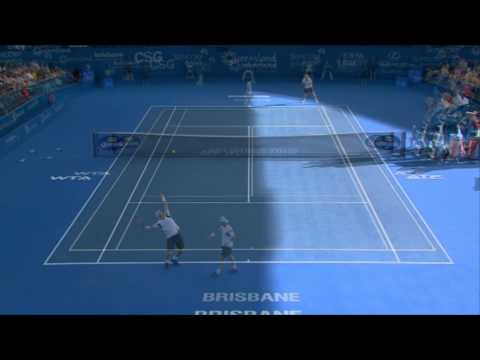 Lleyton Hewitt v Denis Istomin - Highlights Men's Singles Round 2: Brisbane International 2013
