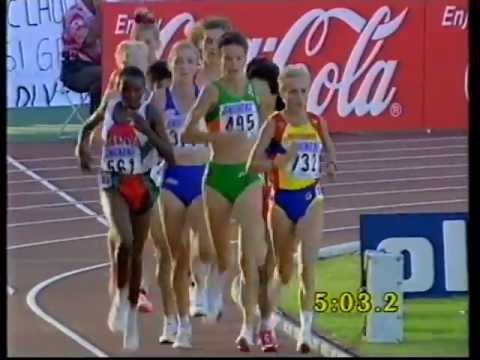 Sonia O'sullivan - World 5000m Champion, Gothenburg 1995 video