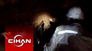 Soma maden kazasının kaza mahalli görüntüleri
