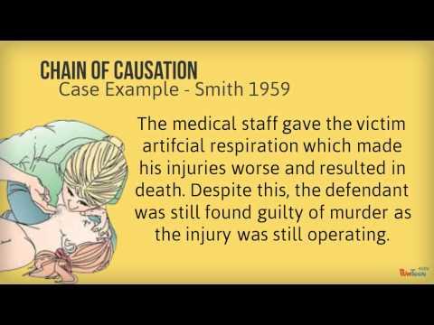 Causation - A2 Criminal Law