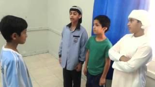 ابداع الطلاب فى الصف السادس ،  شرح حديث  حساب العبد يوم القيامة