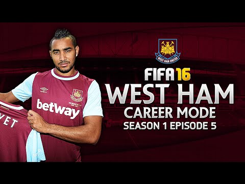FIFA 16 West Ham Career Mode S1E5 - The Zárate Kid