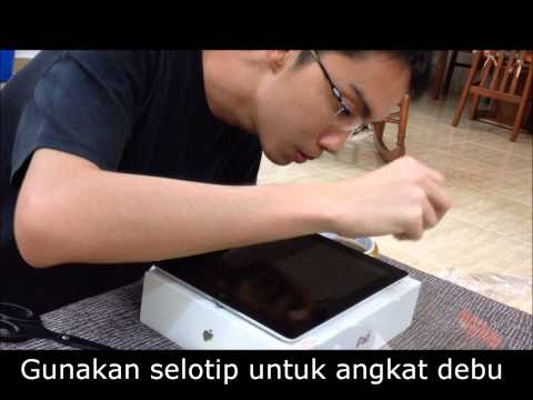 GalauTips: Cara Memasang Screen Protector (Hinge Method)
