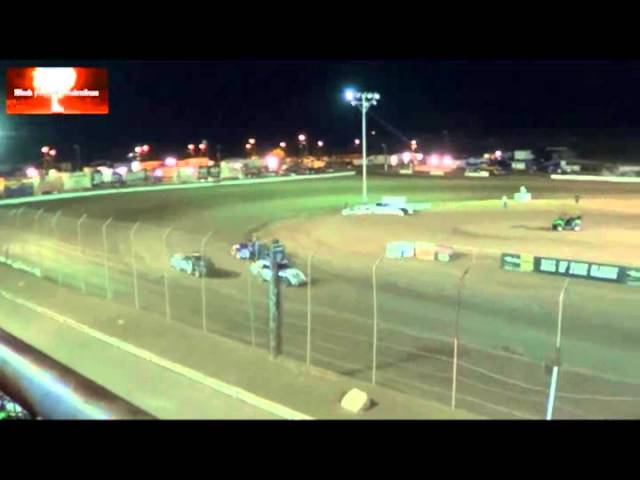 The IMCA Modifieds Heat Race From Canyon Speedway Park Aug 17th 2013