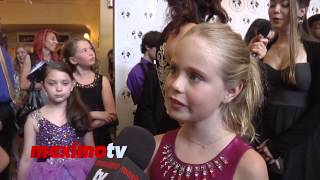 Loreto Peralta Interview Young Artist Awards 2014 Red Carpet