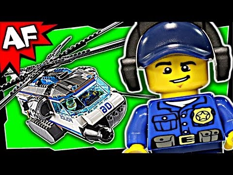 HELICOPTER SURVEILLANCE Lego City Police 60046 Building Set Review