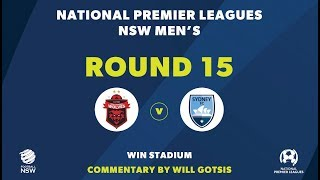 NPL NSW, Round 15, Wollongong Wolves FC v Sydney FC NPLNSW