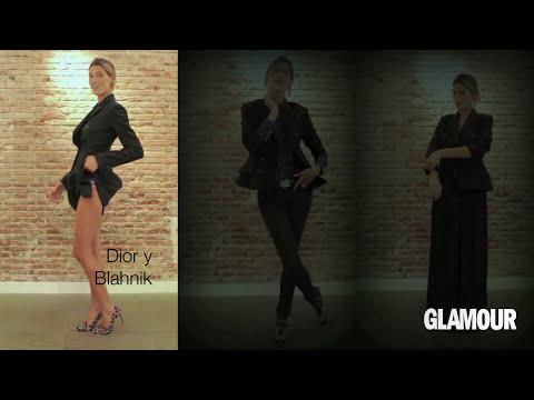Lecciones de estilismo: falda tubo, camisa blanca y blazer negra