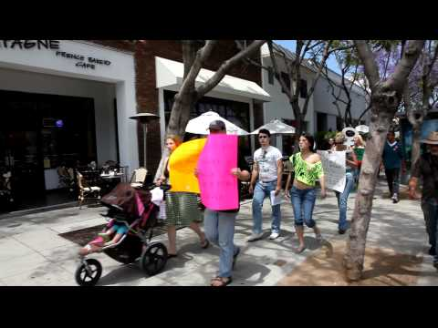 SlutWalk LA June 4, 2011 RAW VIDEO