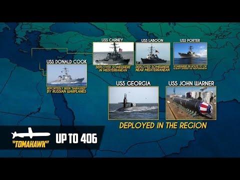 11 апреля 2018. Военная обстановка в Сирии. США стягивают флот к Сирии несмотря на предупреждения РФ