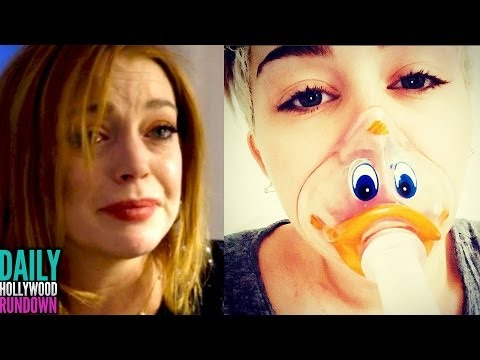 Lindsay Lohan's Shocking Miscarriage Reveal! Miley Cyrus Cries Over Hospital Stint (DHR)