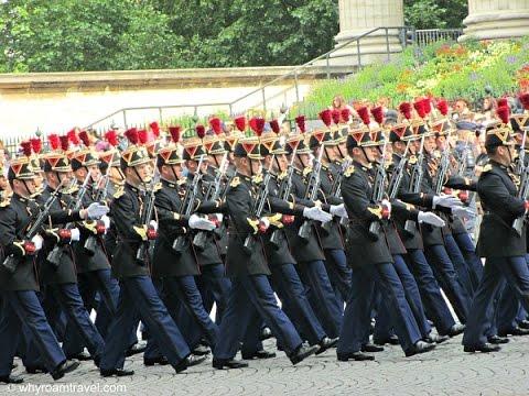 Bastille Day 2014 in Paris, France