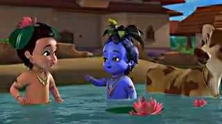 Vrindavan Ka Dulara Little Krishna Hindi Film Trilogy DVD 1
