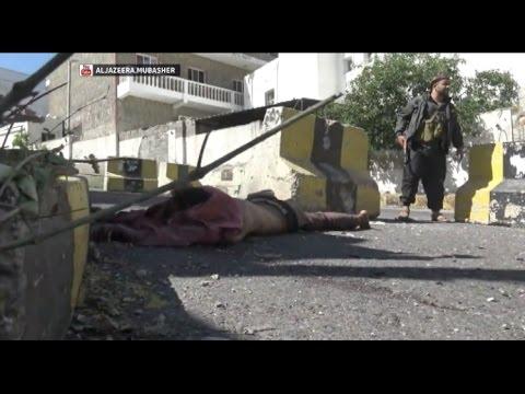 فيديو:شاهد 20 دقيقة من اعنف المعارك في تعز لطرد المليشيات من منطقة العسكري