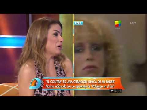 Marina Calabró, dolida: Qué hubiese querido que hagan en Polémica en el bar
