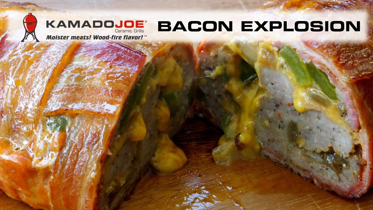 Bacon Explosion Keto Kamado Joe Bacon Explosion