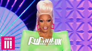 Exclusive Look At RuPaul's First Runway: RuPaul's Drag Race UK