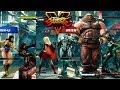 Street Fighter V AE Cammy/Rashid/Chun Li vs Urien/Abigail/Juri PC Mod