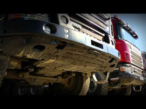 Scania off road truck launch 2011
