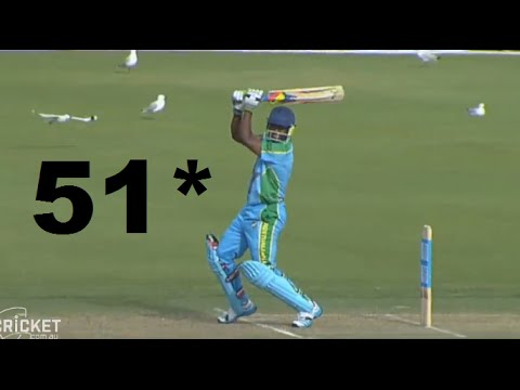 Brian Lara Vintage Fifty 51 against Perth Scorchers vs Legends XI