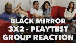 React Wheel: Black Mirror - 3x2 Playtest - Group Reaction! (New React Wheel Poll)