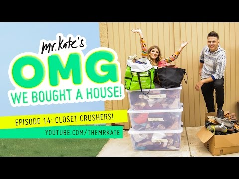 Closet Crushers! | OMG We Bought A House!