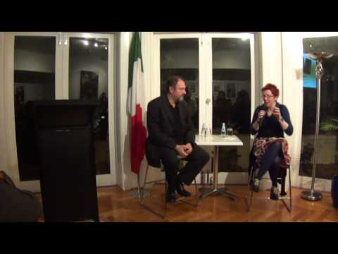 Carlo Lucarelli, crime-fiction writer, film director and TV presenter - 3 July 2013 - Part 1