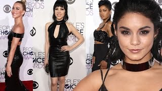 Vanessa Hudgens & Keke Palmer Fashion at People's Choice Awards 2016