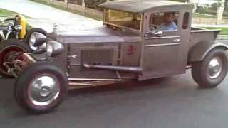 1928 Chevy Flame thrower