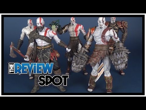 Comparison   Comparing all the NECA God of War Kratos Figures!