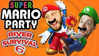 Super Mario Party River Survival Part 6 - Funhaus Gameplay