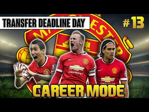 FIFA 15 Career Mode Manchester United #13 Transfer Deadline Day
