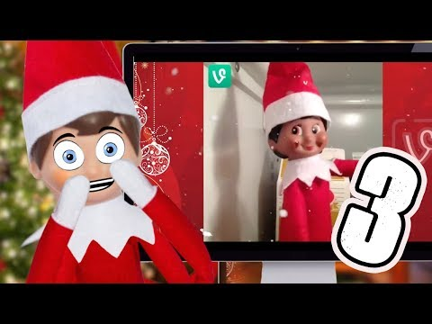 TRY NOT TO LAUGH CHALLENGE 🎄 ELF ON THE SHELF PART 3 🎄 Christmas 2017
