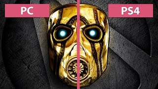 Borderlands: The Handsome Collection – PC vs. PS4 Graphics Comparison [60fps][FullHD|1080p]