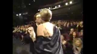 Allison Janney wins 2001 Emmy Award for Supporting Actress in a Drama Series