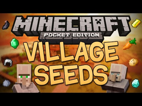 Best Village Seeds for Minecraft Pocket Edition (0.10.4)