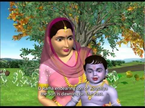 Sri Venkateswara Suprabhatam 3D Animation Songs Part 1