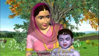 Sri Venkateswara Suprabhatam 3D Animation Songs Part 1