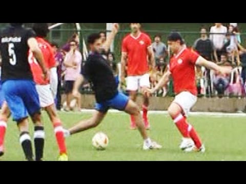 Charity Football Match |  Aamir Khan, Hrithik Roshan, Abhishek Bachchan & Salman Khan | Part 1