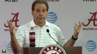 Watch Nick Saban preview Mississippi State