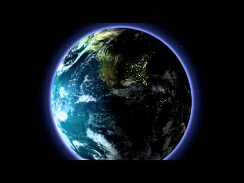 Adobe After Effects - Realistic Earth [HD]