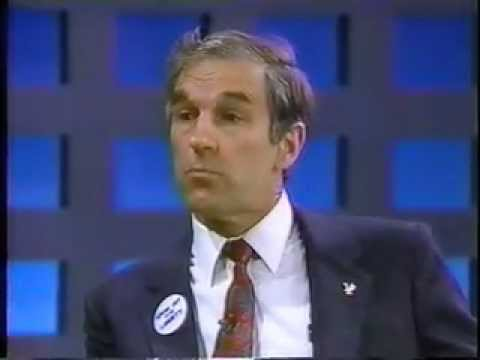 Ron Paul on Morton Downey Jr. - 1988