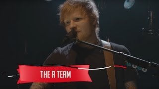Ed Sheeran  - The A Team (Live on the Honda Stage at the iHeartRadio Theater NY)