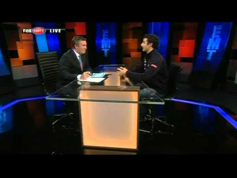 F1 2012 - Daniel Ricciardo Interview - Eddie McGuire Tonight